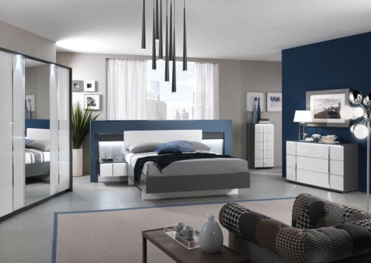 lit avec led urbino