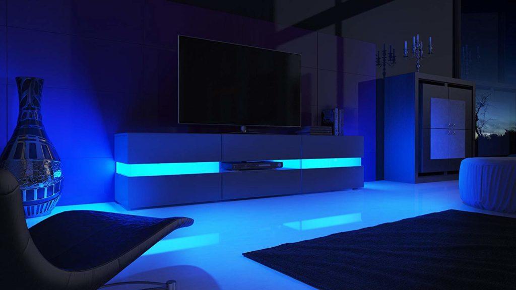 meuble tv led flow